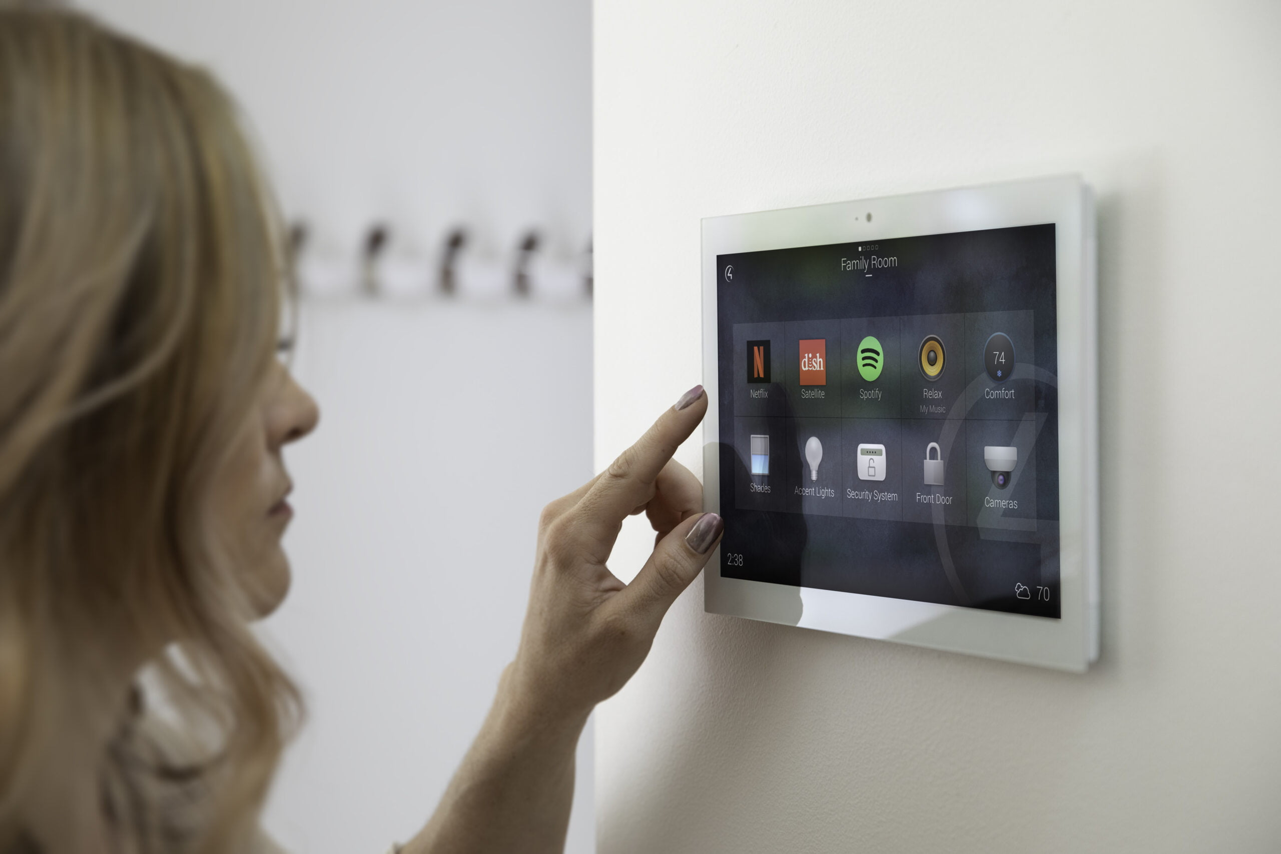 Control4 Touch Screen