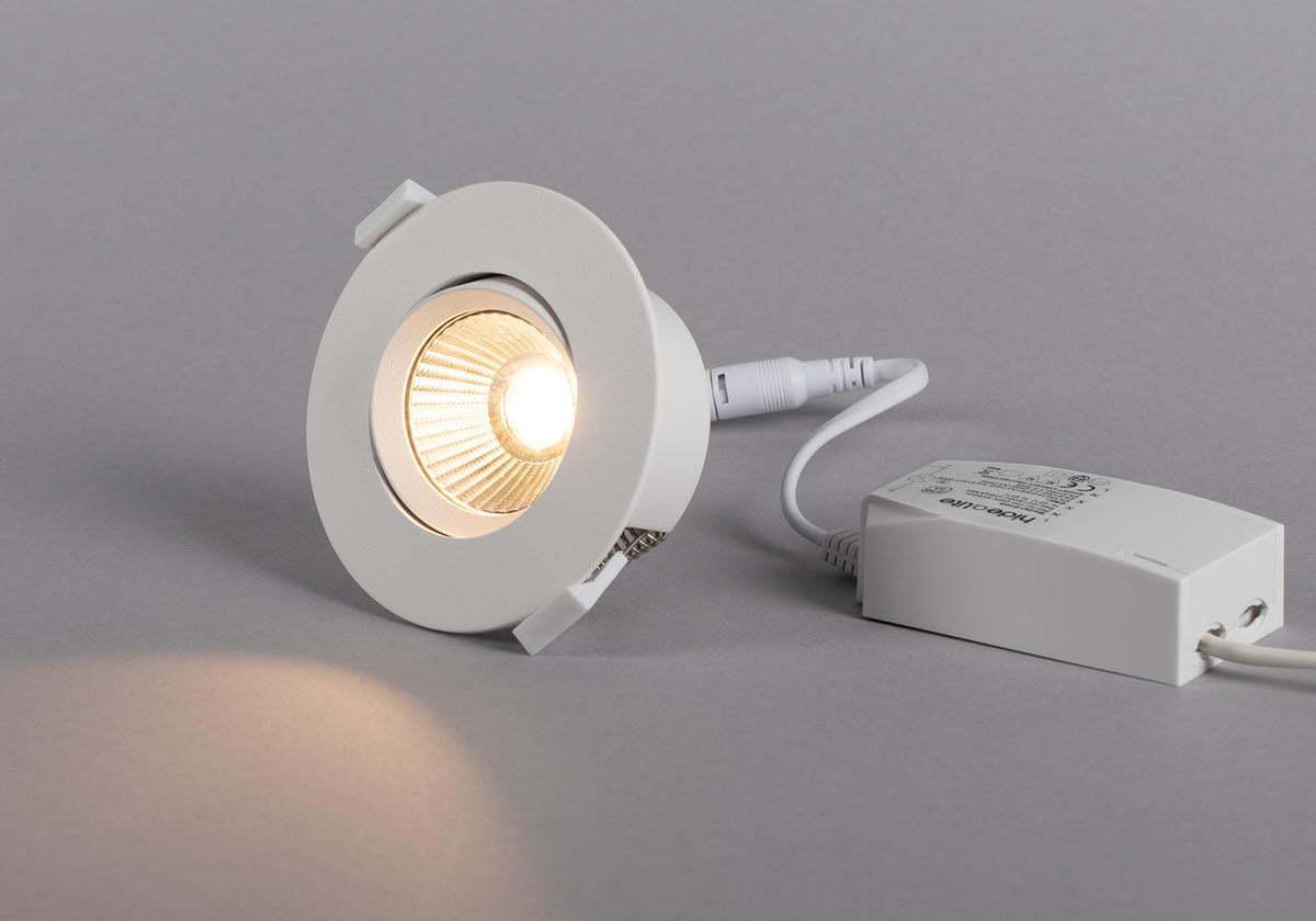 Downlight LED Optik Quick Iso 2700K Vit