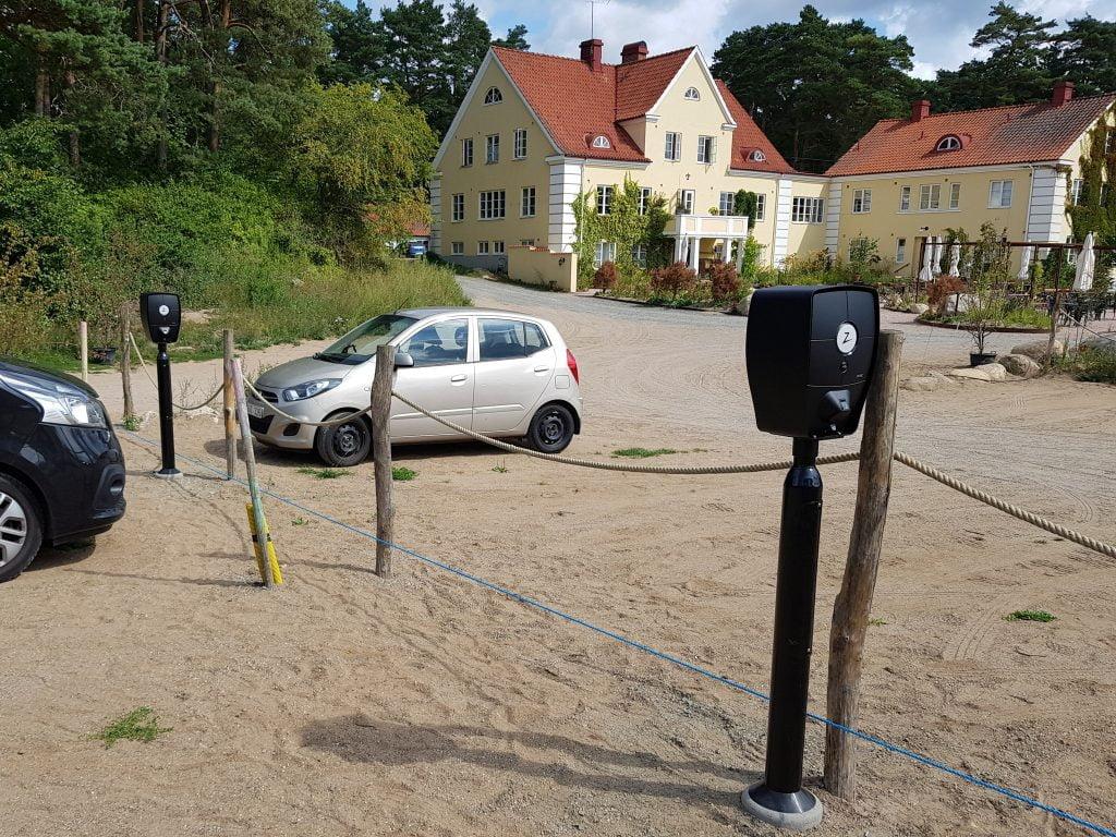 Zaptec Pro på Talldungens Gårdshotell